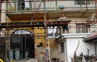 Oprava fasády Jemnice