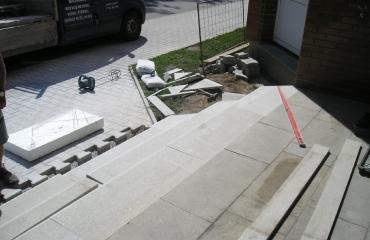 Oprava schodů Pánek Jemnice