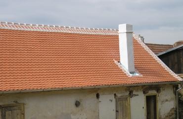 Oprava střechy Bačkovice