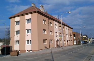 Zateplení bytového domu Jemnice